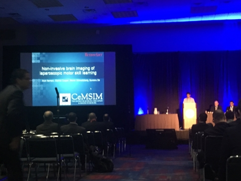 SAGES 2017 - Non invasive brain imaging for surgical skill assessment